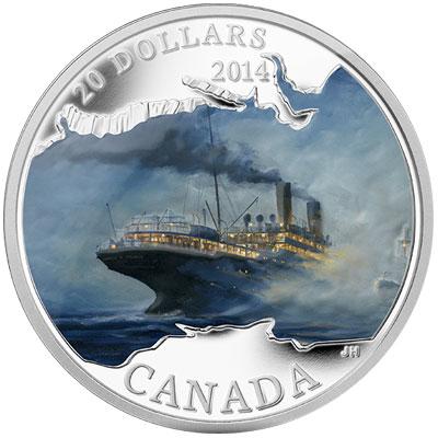 Empress of Ireland Silver Coin