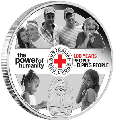 Australian Red Cross Silver Coin