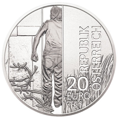 Fall of the Iron Curtain Silver coin