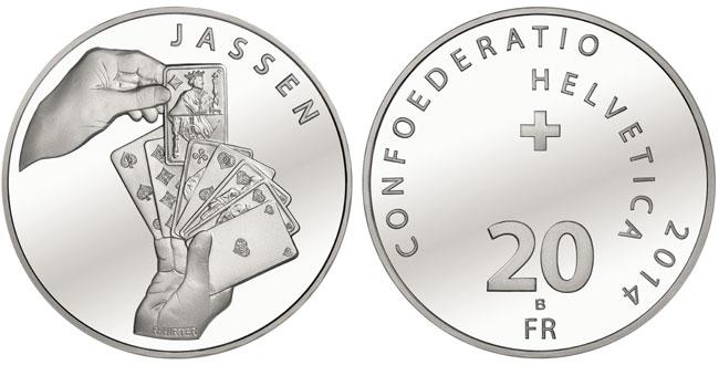 2014 Jass Silver Coin