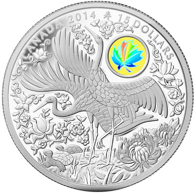 Longevity Silver Hologram Coin