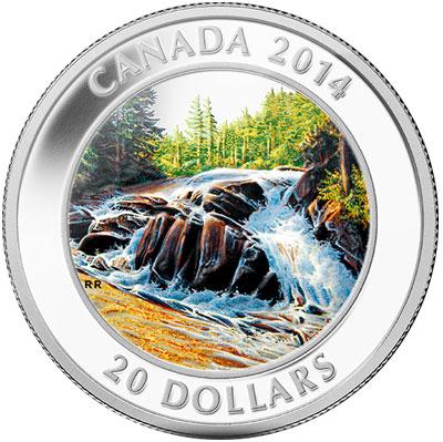 River Rapids Silver Coin