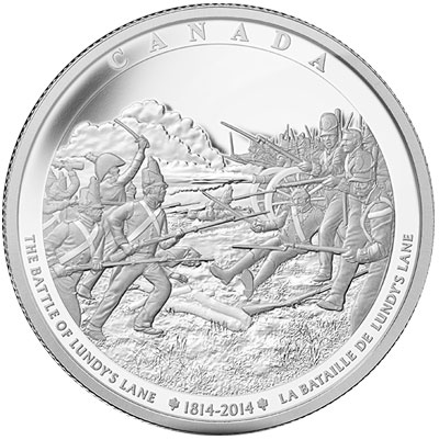 2014 Battle of Lundy's Lane Kilo Coin