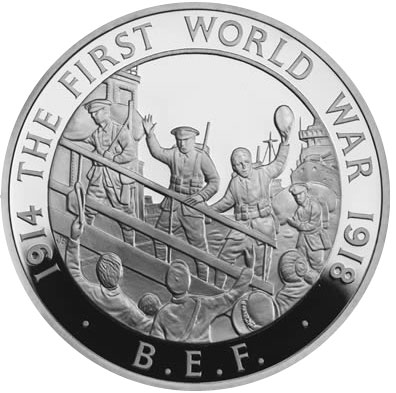 2014 British Edpeditionary Force Coin
