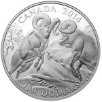 Canada 2014 Bighorn Sheep Silver Coin