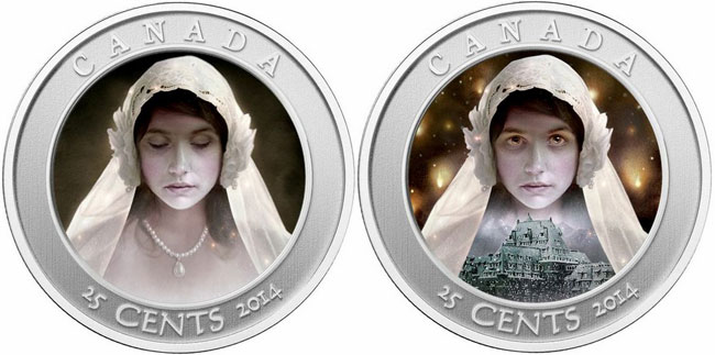 2014 Ghost Bride Hologram Colored Coin