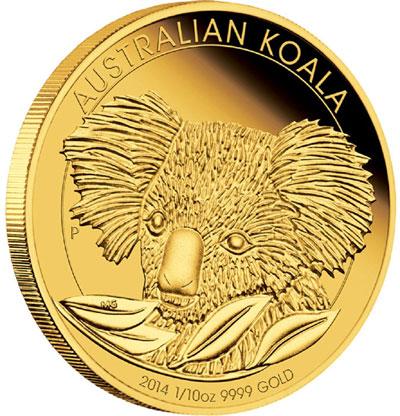 2014 Australian Koala Gold Coin
