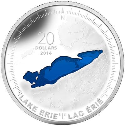 2014 Lake Erie Silver Coin