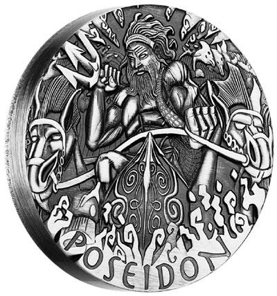 Poseidon Silver Coin