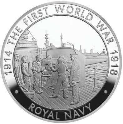 2014 Royal Navy Coin