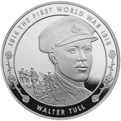 2014 Walter Tull Coin
