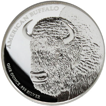 American Buffalo High Relief Silver Proof coin