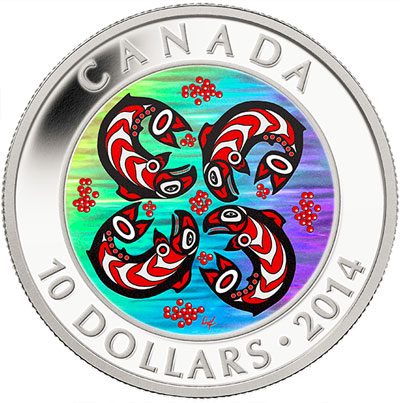 2014 First Nations Art Hologram Coin