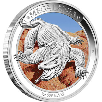 2014 Megalania Silver Proof Coin