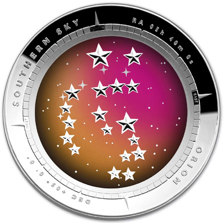 Southern Sky Oion Coin