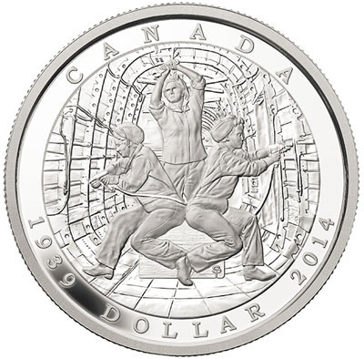 75th Anniversary of the Second World War Silver Coin