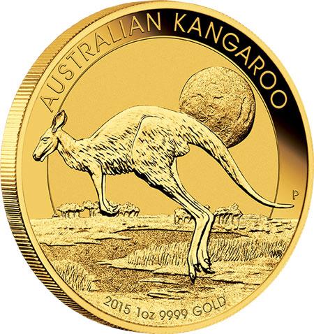 2015 Australian Gold Kangaroo