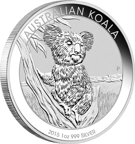 Perth Mint 2015 Gold And Silver Bullion Coin Designs
