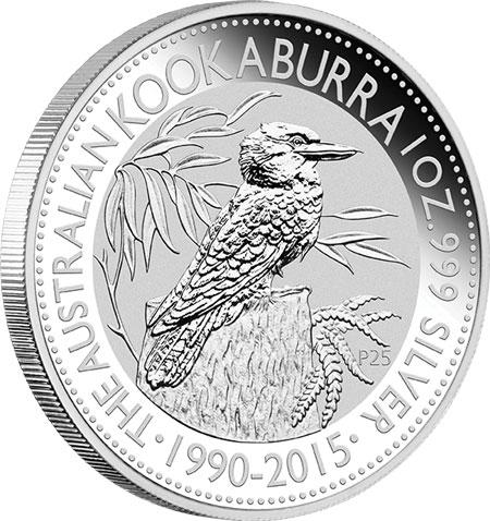 2015 Australian Silver Kookaburra