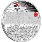 ANZAC Spirit Declaration of War Silver Coin