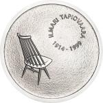 Ilmari Tapiovaara Silver Coin