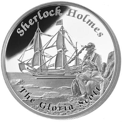 Sherlock Holmes Silver Coin