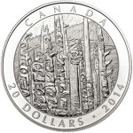 Emily Carr Totem Forest Coin