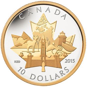 2015 Celebrating Canada Coin
