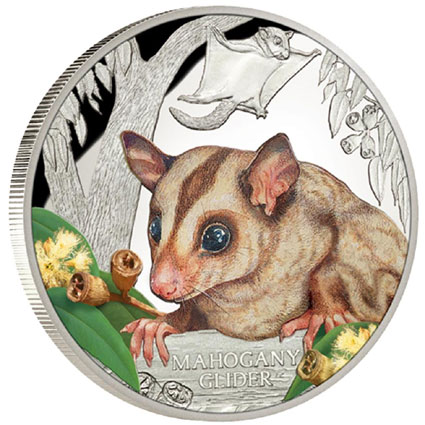 2015 Mahogany Glider 1 oz Silver Proof Coin