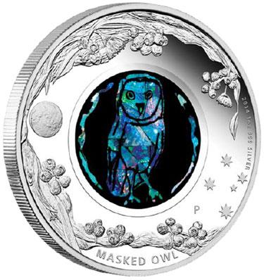 Australian Opal Series Masked Owl