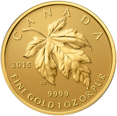 2015 Gold Maple Leaf Fractional Set