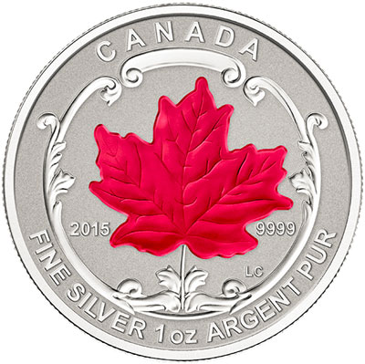 2015 Silver Maple Leaf Fractional Set