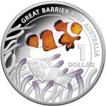 2015 Great Barrier Reef Silver Coin