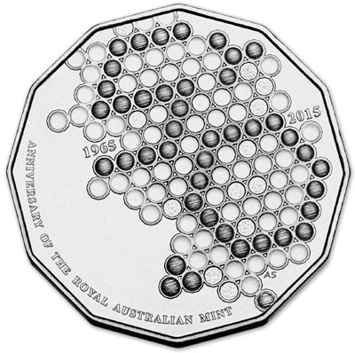 Royal Australian Mint 50th Anniversary Coin