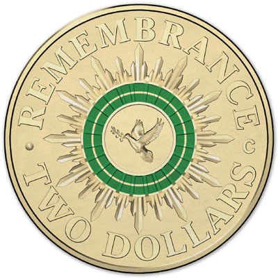 2014 Remembrance Day Coin
