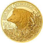 2014 Wild Boar Gold Coin