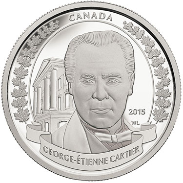 George-Étienne Cartier Silver Coin