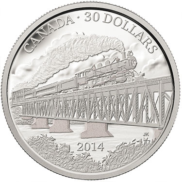 Grand Trunk Pacific Railway Silver coin