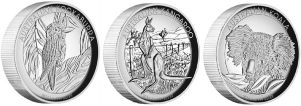 2014 Australian High Relief Collection