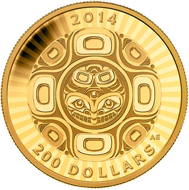 2014 Interconnection Sea Gold Coin
