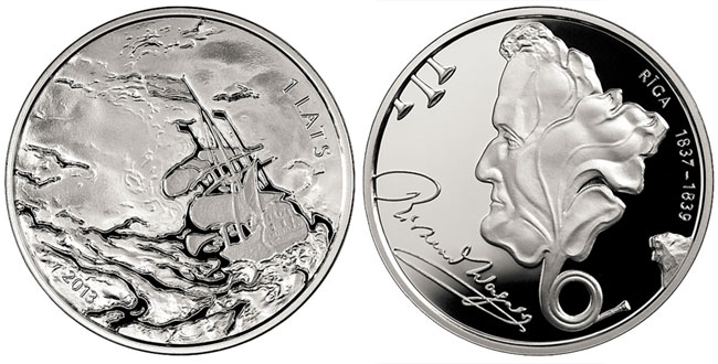 2013 Richard Wagner Silver Coin