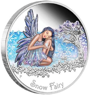 Snow Fairy Silver Coin
