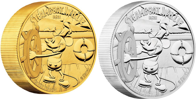 steamboat willie coins