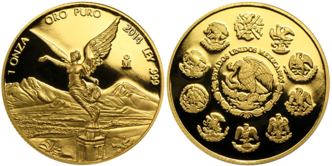 2014 Gold Libertad Proof Coin