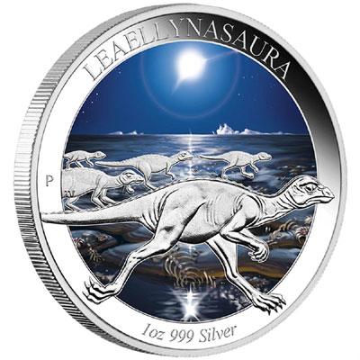 Leaellynasaura Silver Coin