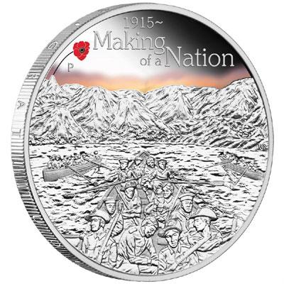 Anzac Spirit 100th Anniversary Silver Coin
