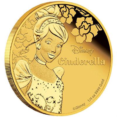 Cinderella Gold Coin
