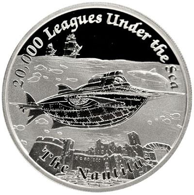 Nautilus Silver Coin