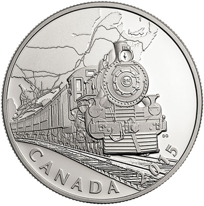 Transcontinental Railroad Silver Coin