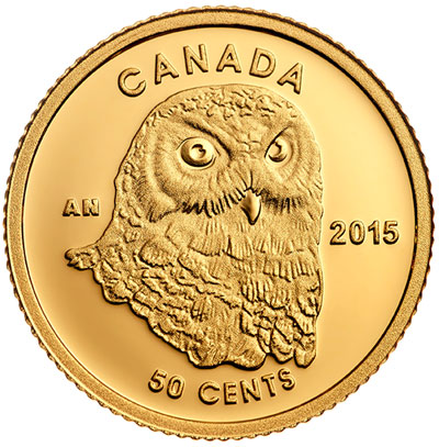 Owl Gold Proof Coin